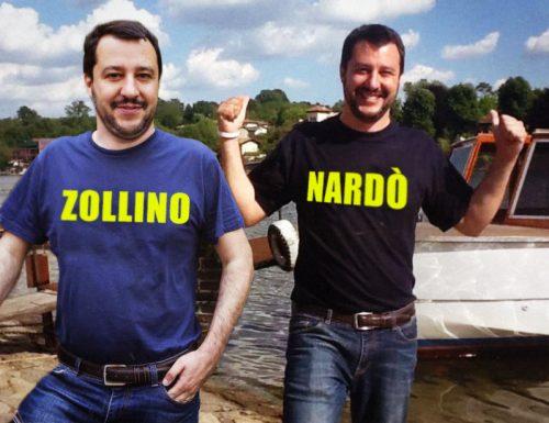 Allarme Oms: le magliette di Matteo Salvini causano forti bruciori di stomaco