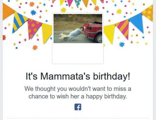 Mammata Check: Facebook ti segnalerà anche il suo compleanno