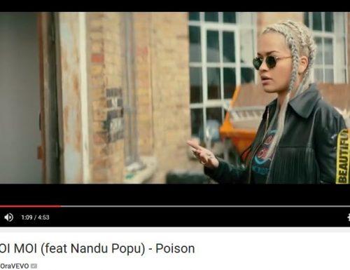 Rita Ora duetta con Nandu Popu e cambia il nome in Rita Moi Moi