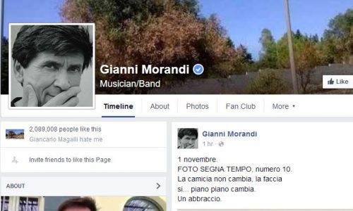 Xylella, un nuovo focolaio scoperto sul profilo facebook di Gianni Morandi