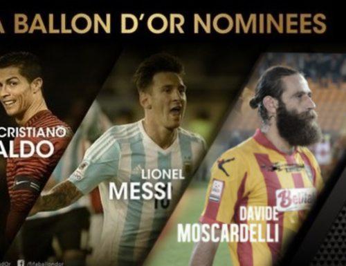 Pallone d'oro 2015: i finalisti sono Messi, Cristiano Ronaldo e Moscardelli