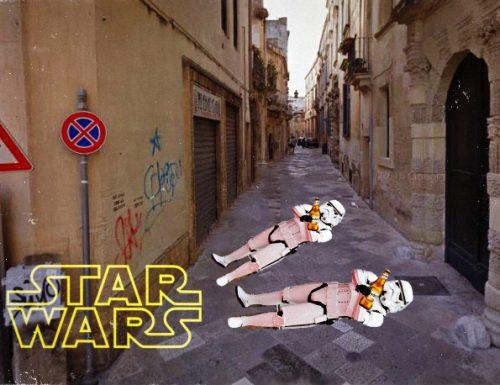 Star Wars: Il risveglio a stozze. Torna in Salento il temutissimo Darth Dreher.