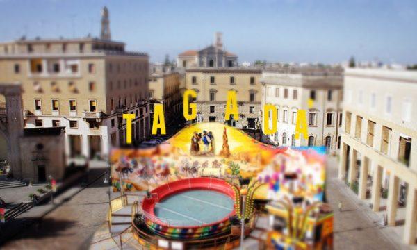 Natale 2018: Spunta un Mega Tagadà in Piazza Sant'Oronzo forse già buscrai