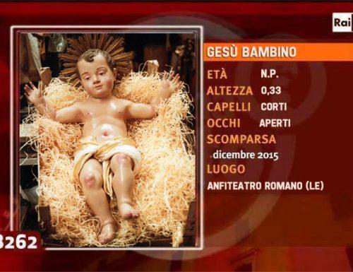 """Speciale """"Chi l'ha visto?"""" Il Gesù Bambino dell'Anfiteatro Romano di Lecce"""