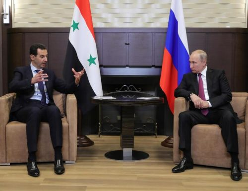 "Siria. Putin a Damasco incontra Assad: ""Ceccazzu me sta guardi?"""