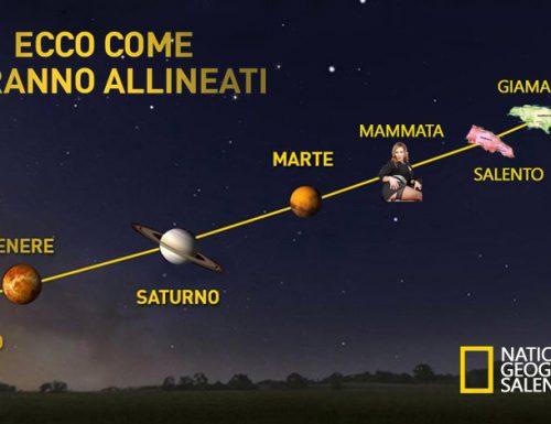 All'alba lo spettacolo dei cinque pianeti allineati con il Salento: non accadeva da tandu