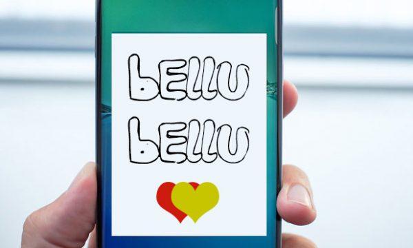 Bellu Bellu, l'app minti manu per un atteggiamento cauto ed equilibrato