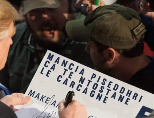 «Mancia piseddhri ca te ntostane le carcagne». Trump cita il Salento e avanza nei sondaggi