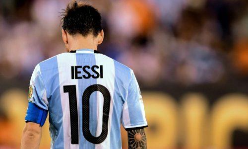 Lionel Messi lascia l'Argentina: Ecco la maglietta celebrativa dell'addio
