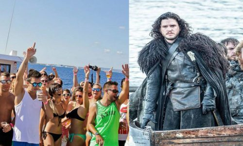 Games of thrones: Jon Snow sbarca a Gallipoli per la Battaglia dei Mazzari