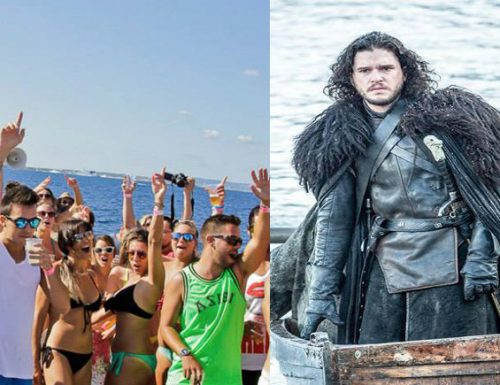 Games of thrones: Jon Snow sbarca a Gallipoli per la Battaglia dei Mazzari