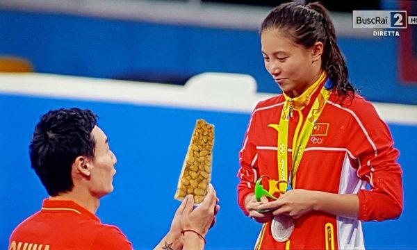 Sorpresa alle Olimpiadi: Arriva la proposta di Matrimonio con la Cupeta