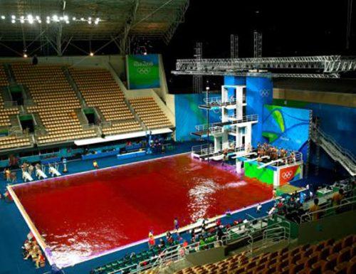 Olimpiadi: partono oggi le gare di gavettoni nella piscina di Mieru
