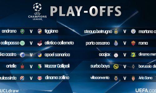 Sorteggio Preliminari di Champions, la Roma sfida il Porto Cesareo