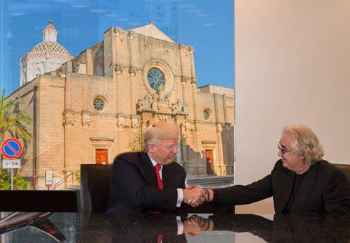 """Donald Trump difende Flavio Briatore: """"Anche lui è di Campi"""""""