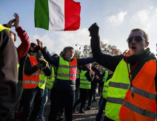 La protesta dei gilet giallorossi arriva fino a Palmariggi
