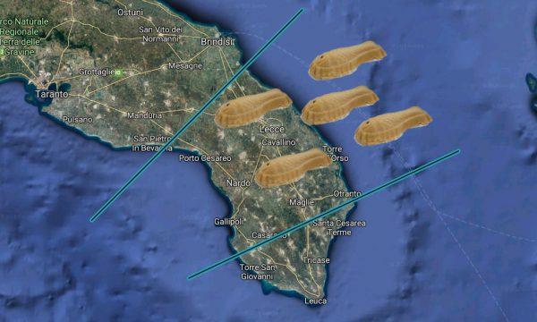 Nuovo allarme maltempo, previste forti precipitazioni di pesci di pasta di mandorla fino a Natale