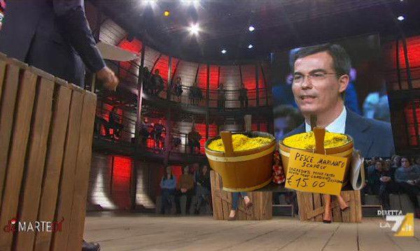 Si fingono Sardine per essere ospitate in tv, nei guai due belle confezioni di Scapece